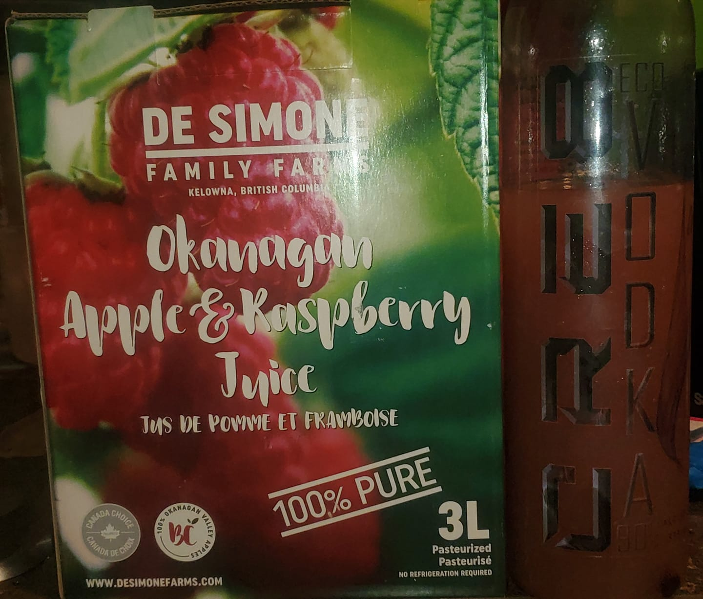 Okanagan Apple Raspberry CRE8 Eco Vodka
