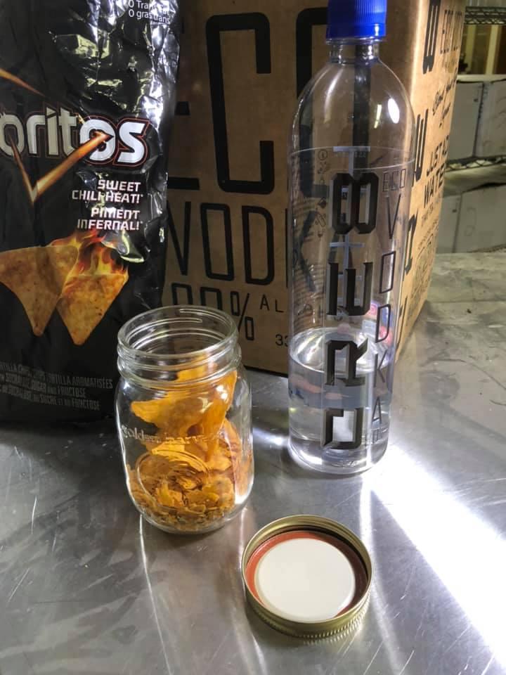 Sweet Chili Heat Doritos CRE8 Eco Vodka
