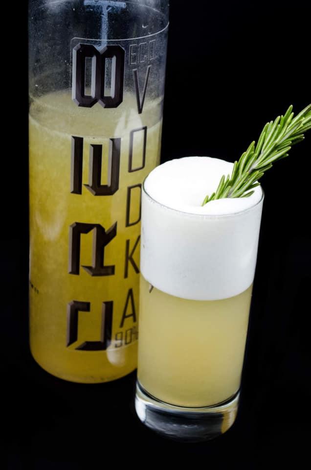 Cre8 Eco Vodka CRE8ion: Amaretto Fizz