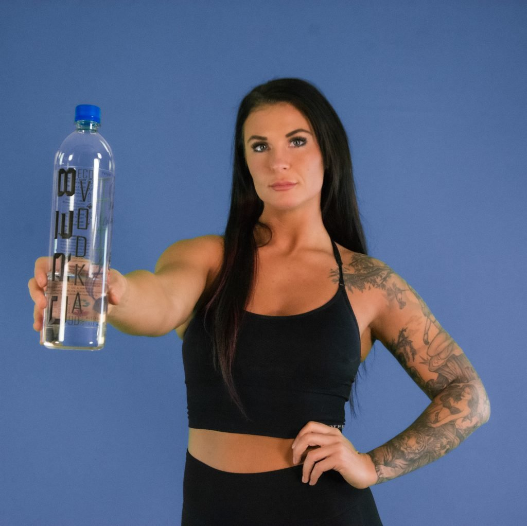 Ashlee with CRE8 Eco Vodka