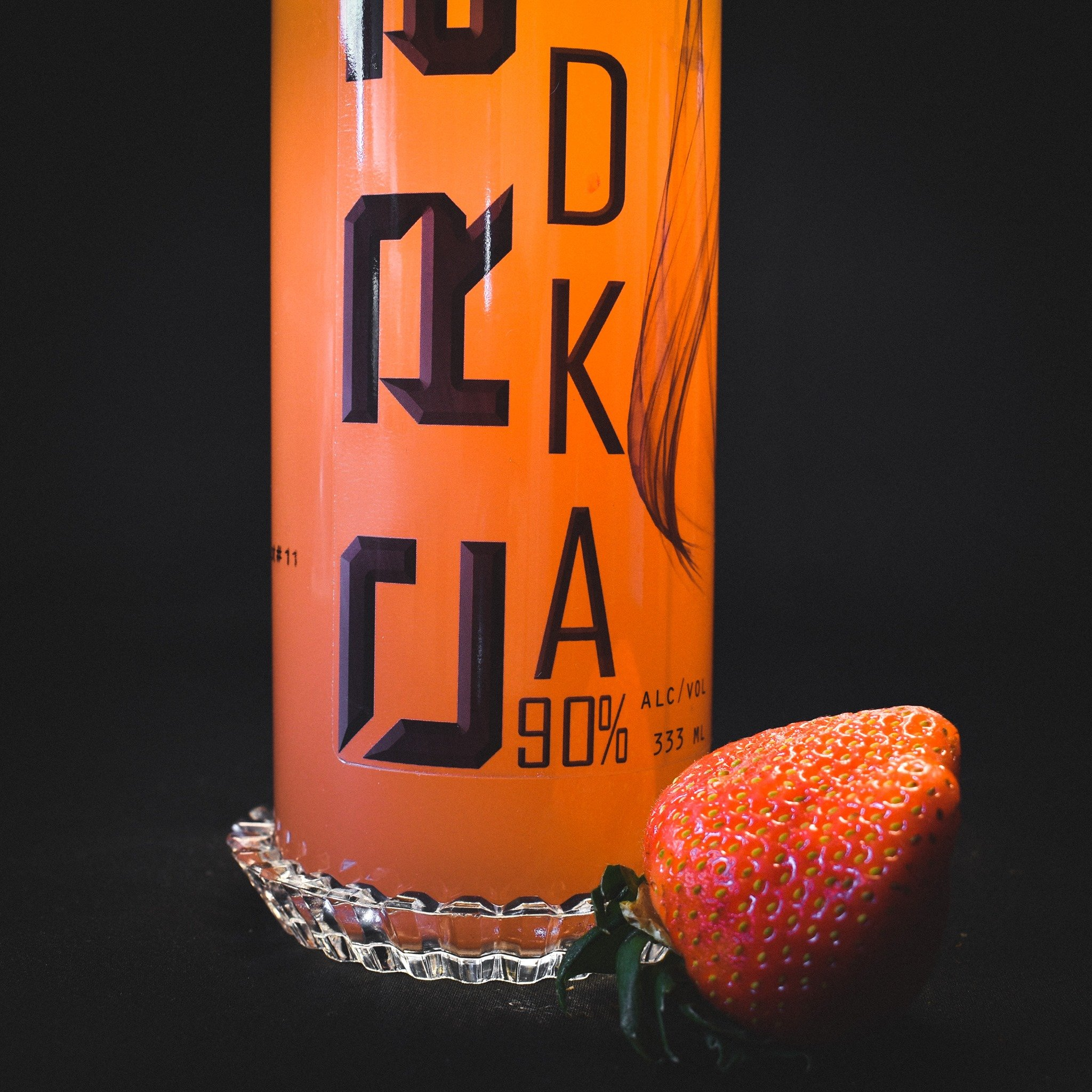 Spiced Strawberry Cre8 Eco Vodka CRE8ion