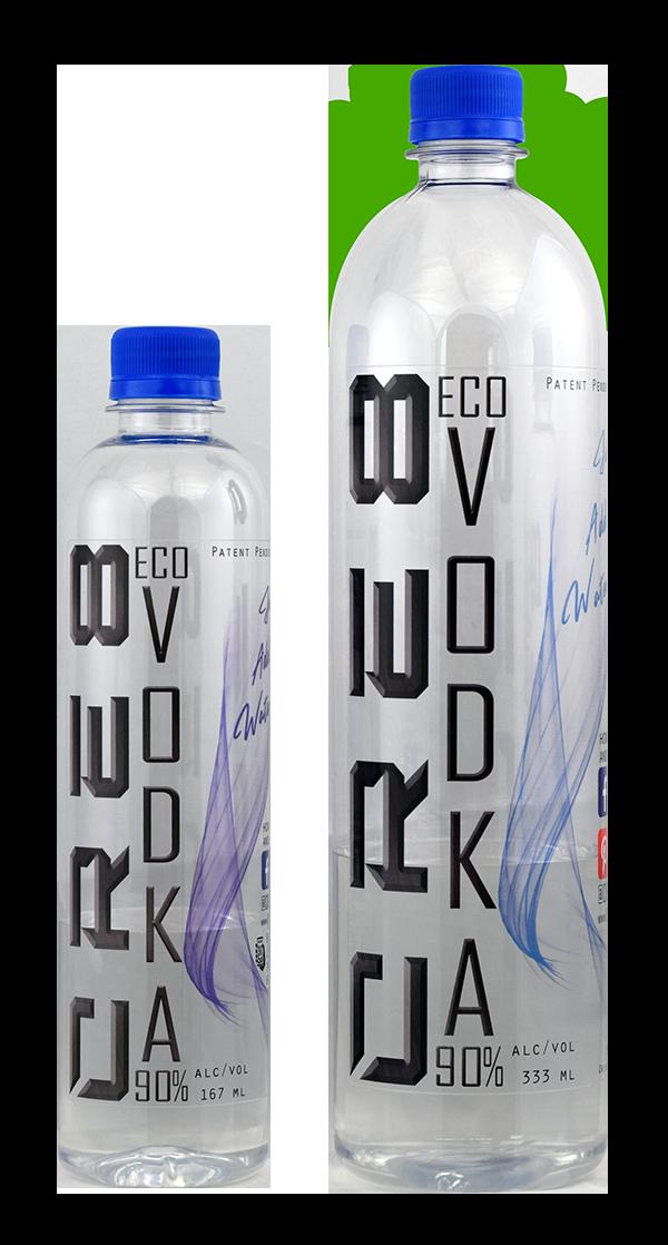 CRE8 Eco Vodka Bottles